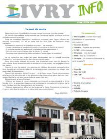 Couverture Livry Info n° 98