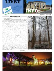 Couverture Livry info n° 88