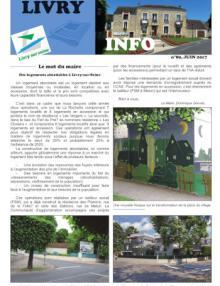 Couverture Livry info n° 89