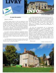 Couverture Livry info n° 90