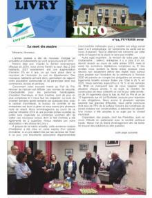 Couverture Livry Info n° 94