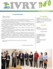Couverture Livry Info n° 97